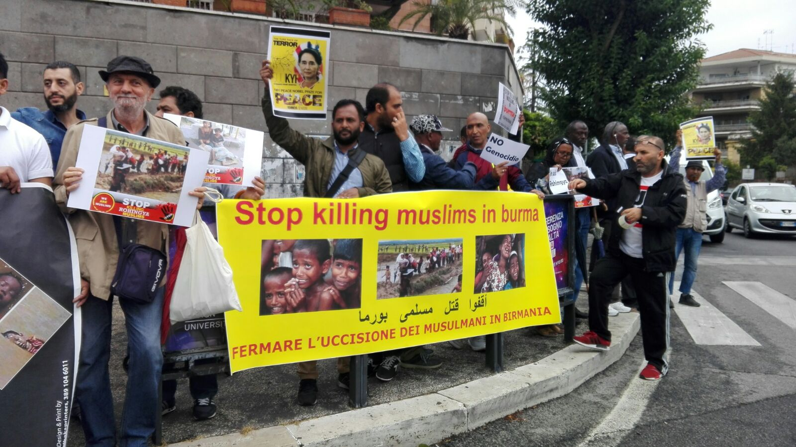 Difendiamo i nostri fratelli Rohingya ( Sit-in a Roma)