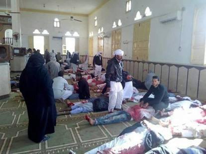 Sinai-Strage nella Moschea
