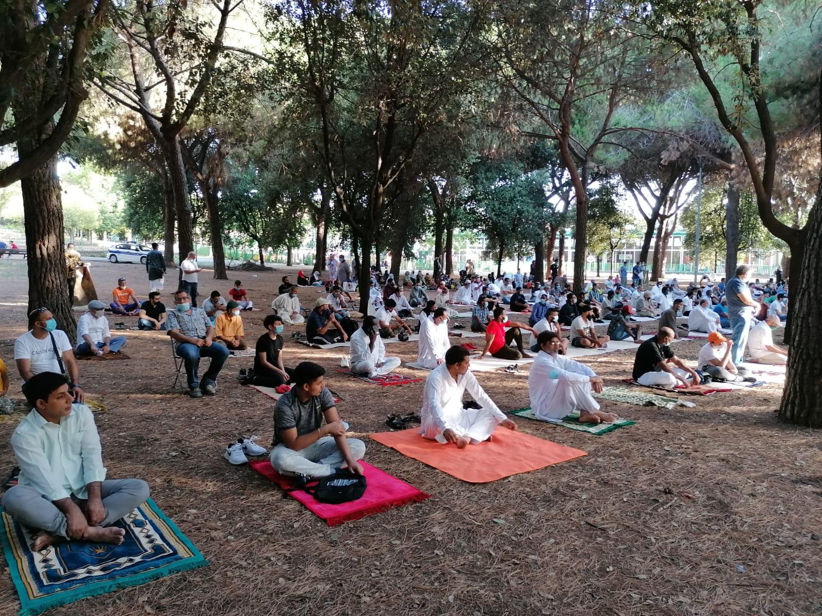 La Preghiera di iid Al-Ad'ha 31/07/2020